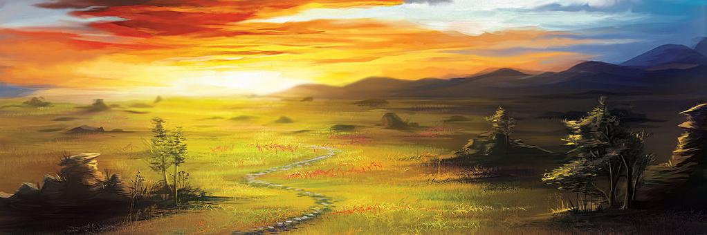 Image result for hills of dunland full art