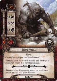 Snow-troll